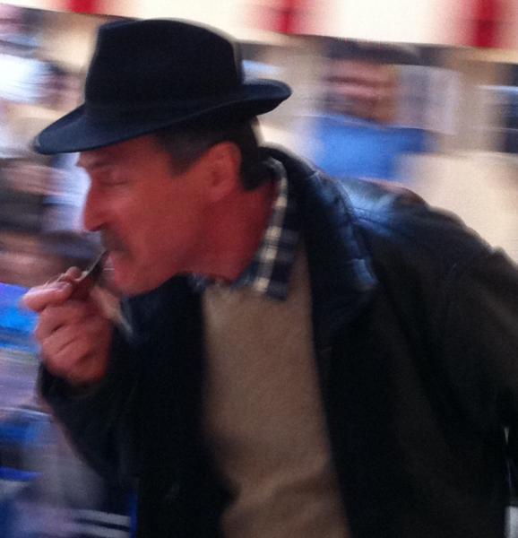 L'inspecteur Legris en action