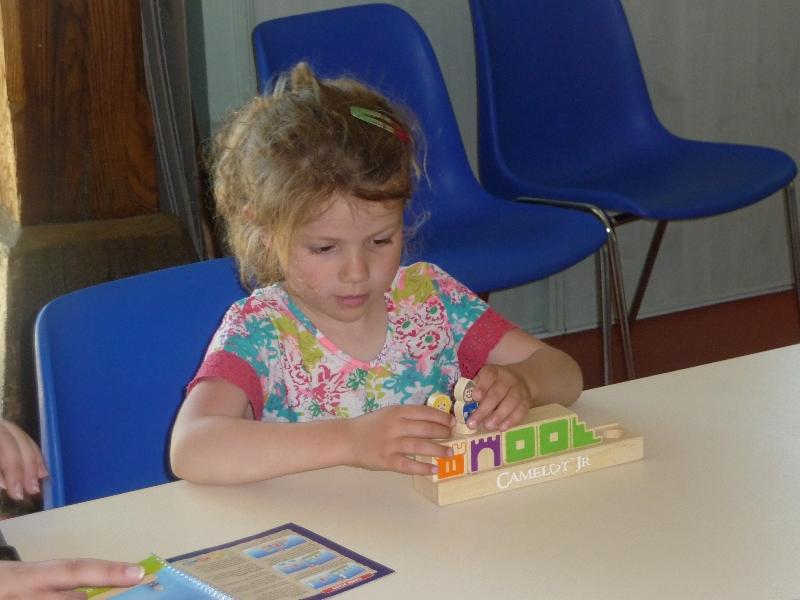 Et concentration chez les petits aussi !